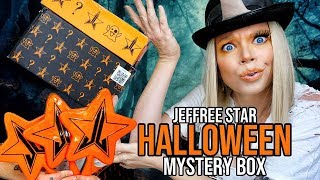 Jeffree Star Cosmetics *DELUXE & SUPREME* Halloween Mystery Box Unboxing! 2019 by GRAV3YARDGIRL