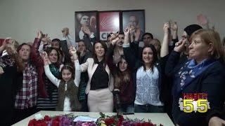 CHP İLKADIM İLÇE BAŞKANI ARZU SABUNCU'DAN GÖVDE GÖSTERİSİ...