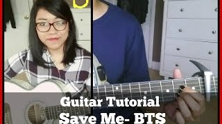 Watch my cover here: https://www.youtube.com/watch?v=Te2HXfVCmiYHello all! As requested, I've made a guitar tutorial for BTS's Save Me. It's a bit hard to explain, but I did my best. Hope you guys find it useful. Like. Comment. Subscribe! :)Instagram: Kristinemay13(new account) km.kpopacousticFacebook.com/kristinemay13**** FAQ (Frequently asked questions) ****Q: Are you Korean?A: Nope Q: How do you know Korean?A: I actually don't, but I'm currently trying to learn. :)Q: Where do you get the chords?A: I learn the songs by ear.