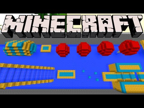 Minecraft - Wipeout with TNT Launcher