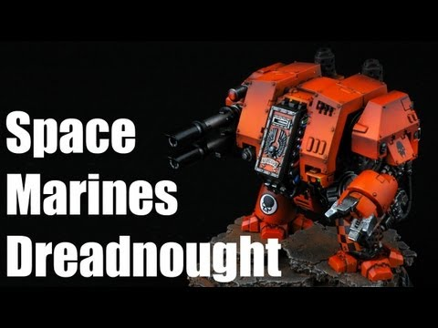 how to paint space marines - Resin bits and models: http://store.forgeplanet.com Paints used: Vallejo Air Colors: Orange, Tank Brown, Black Metal, Steel, Black, Gun, Gloss Varnish Vallej...