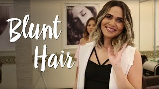 Blunt Hair: o corte do momento (artistas, inspirações, cuidados e manutenção)