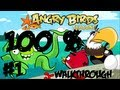 Angry Birds Seasons - Piglantis - 100% Mighty Eagle Walkthrough - Part #1