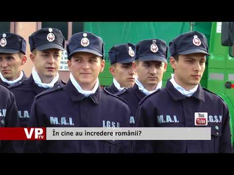 În cine au încredere românii?