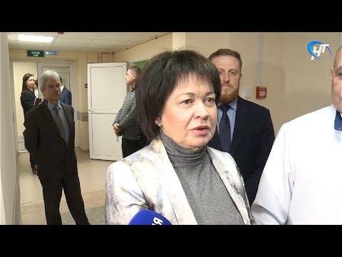 Заместитель полпреда президента в СЗФО Любовь Совершаева посетила Великий Новгород