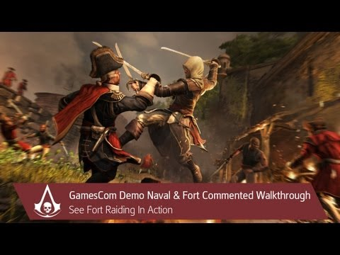 Assassin  s Creed 4 Gameplay Trailer video