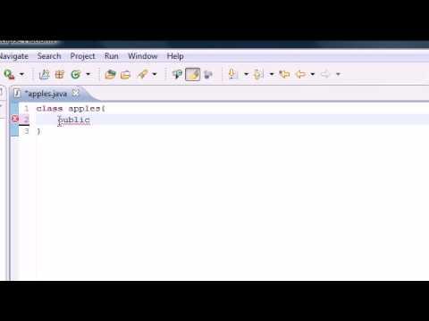 Java Programming Tutorial - 4 - Hello YouTube