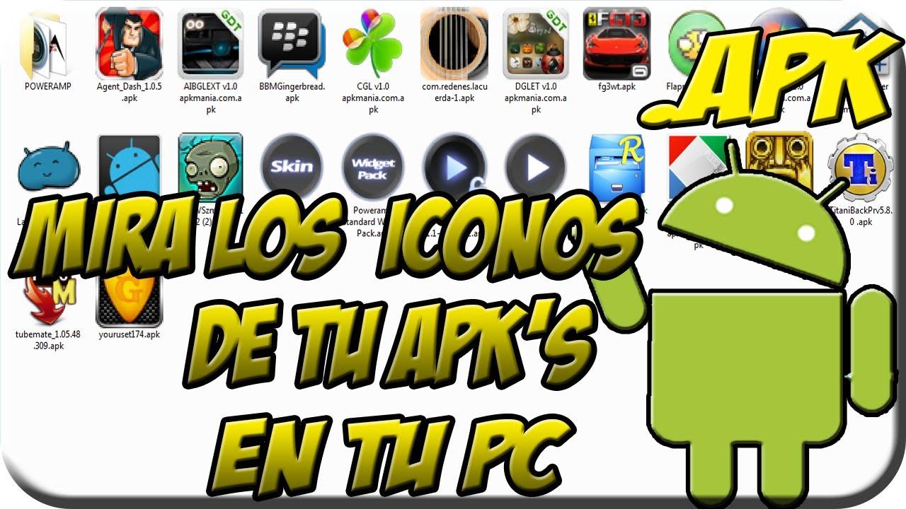 Descargar Mira los iconos de Tus .APK's en tu PC (apkshellext.dll) para Celular  #Android