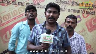 Director Selvam at Vasagan Movie Launch