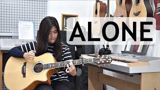 Video (Alan Walker) Alone - Josephine Alexandra   Fingerstyle Guitar Cover MP3, 3GP, MP4, WEBM, AVI, FLV Juli 2018
