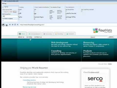 SEO software Auto Backlink bomb