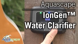 Controlling Algae with Aquascape's IonGen G2 System