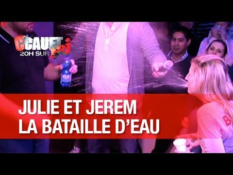 julie - Julie et Jerem se crachent de l'eau sur le visage ! C'Cauet sur NRJ de 20h à 23h ! Pour plus de kiff, abonne-toi ! http://www.youtube.com/subscription_center...