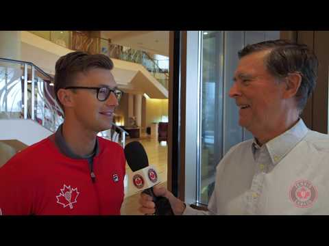 With Davis Cup matches starting today, get to know Canada's Peter Polansky with Tom Tebbutt. What is his favorite place? How was it playing against the ...