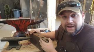 Anvil Shaped Objects are just what the doctor ordered for a beginner. Forget trying to find a damaged anvil for 500 bucks, check ...