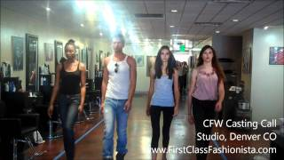 Colorado Fashion Week Model Casting Call
