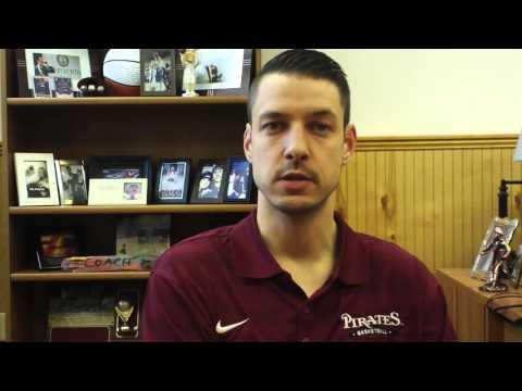 Matt Logie Men's Basketball Feb. 1, 2016