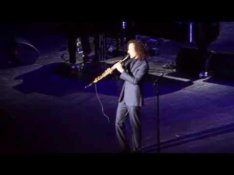 Kenny G - Forever In Love 15.04.2014 (Crocus City Hall, Moscow)