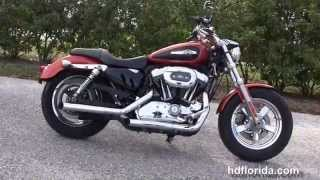 1. Used 2011 Harley Davidson Sportster 1200 Custom Motorcycles for sale