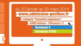 Tutoriel Admission Post Bac (APB) - Esiee Amiens