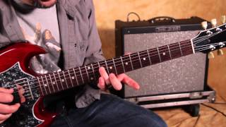 Black Keys - Guitar Lesson -  How to Play - Same Old Thing  Blues Rock Riffs Guitar Lessons  SG