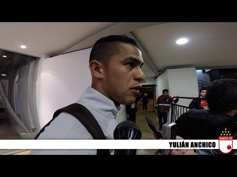[Reacciones Yulián Anchico] Independiente Santa Fe (0) - Atl. Mineiro (1) :: Copa Libertadores 2015