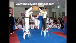 alperen şanalburak sesli  malatya doğuş spor kulübü taekwondo show