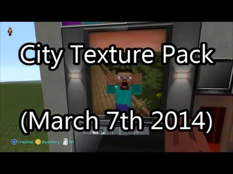 Minecraft Xbox 360 - Taking a Look at the New City Texture Pack! (March 7th 2014)