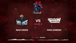 Mad Kings против Pain Gamin, Вторая карта, Квалификация на Dota Summit 8