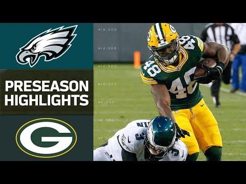 Eagles vs. Packers | NFL Preseason Week 1 Game Highlights - Thời lượng: 4:32.