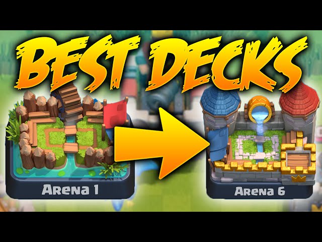 Clash Royale - BEST Decks To Earn MORE Trophies Amazing Decks 1700 ...