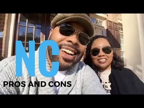 Pros and Cons - Living in North Carolina