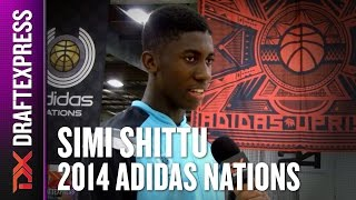 2014 Simi Shittu Interview - DraftExpress - Adidas Nations