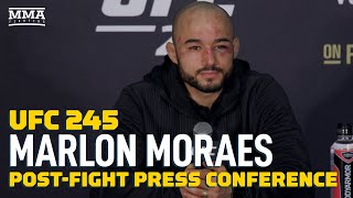 UFC 245: Marlon Moraes Post-Fight Press Conference - MMA Fighting by MMA Fighting