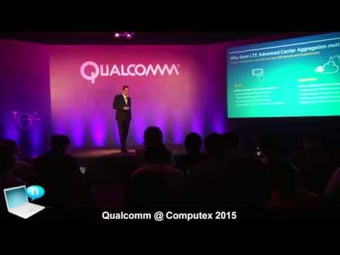 Qualcomm - computex 2015: allwinner alliance, processors leadership, wifi 802.11ac wave 2