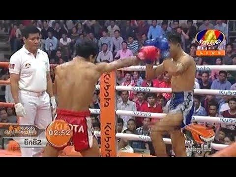 Pich Mteskmang vs Khom Pichhit(thai), Khmer Boxing Bayon 16 Feb 2018, Kun Khmer vs Muay Thai