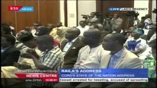 Senator Moses Wetangula's Full Speech During CORD's State Of The Nation Address