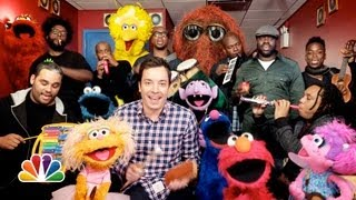 Jimmy Fallon, Sesame Street & The Roots Sing