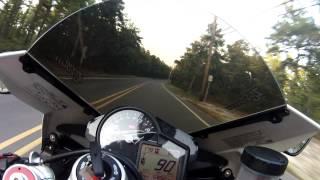 10. RSV4 top speed run
