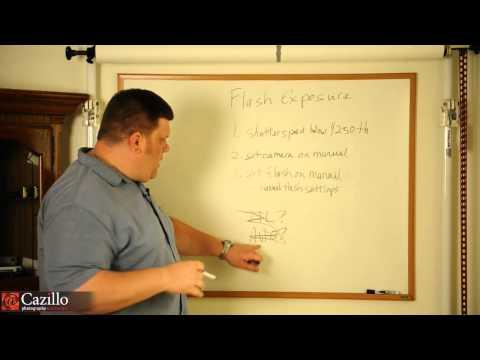 Flash Photography Exposure Basics