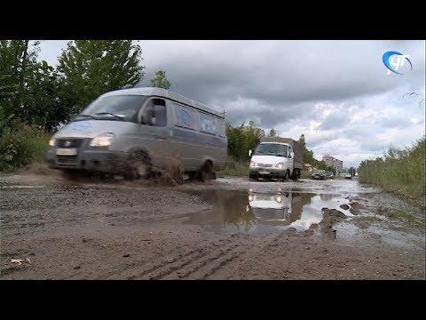Улицу Нехинскую в районе заводской зоны затопили нечистоты