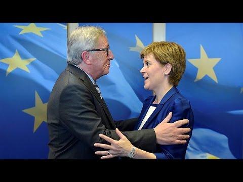 Ν. Στέρτζιον: Βρήκαμε ευήκοα ώτα στις Βρυξέλλες
