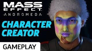 Mass Effect Andromeda's Character Creator