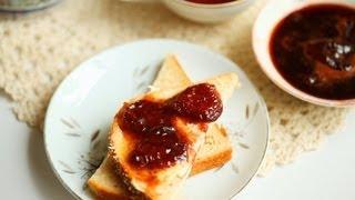 Erdbeermarmelade mit Balsamico