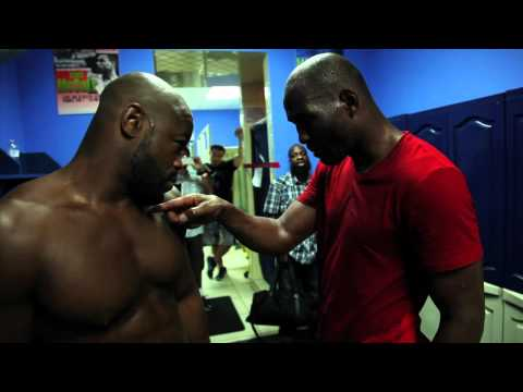 mixed martial arts videos mma blog featured  UFC 133: Bernard Hopkins schools Rashad Evans on the Sweet Science in advance of Tito Ortiz fight (Video) photo