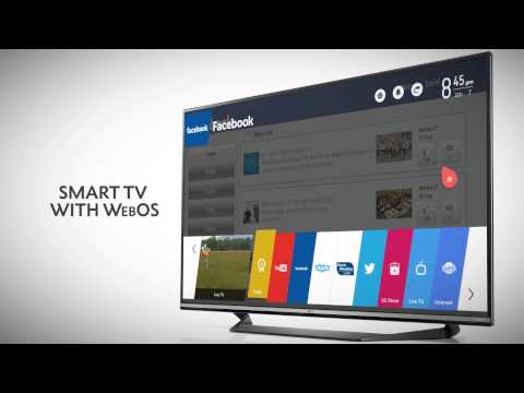 LG UF770 Series 4K Ultra HD Smart LED TV with Magic Remote