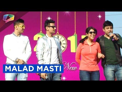 Sakshi Tanvar Attends Sunday Festival 'Malad Masti