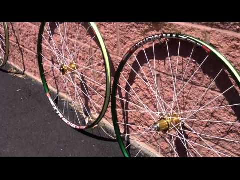 ex rims - Build Your Next Wheelset Using These Rims - http://www.rbikes.com/goto/wheels Below is a short video of what our custom anodized Stans ZTR green anodized mou...