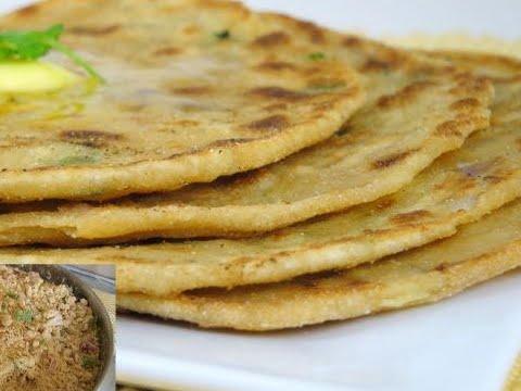 Bihari Special Recipe - Sattu Paratha
