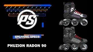 Inlines Powerslide Phuzion Radon TRINITY Women 3x90mm